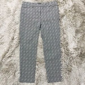 WHBM Patterned Slim Cropped Pants